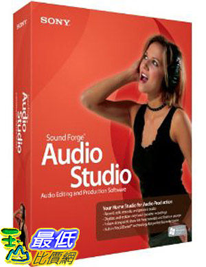 [美國直購 ShopUSA] Sound Forge Audio Studio 9$2610