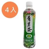味丹 心茶道 健康青草茶 560ml (4入)/組【康鄰超市】
