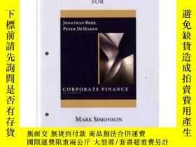 二手書博民逛書店Study罕見Guide For Corporate Finance: The Core-企業融資研究指南:核心奇