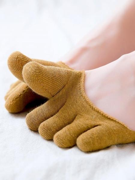分趾襪子女五指襪夏季超薄款純棉淺口五指船襪防滑腳趾夏天五趾襪 【全館免運】
