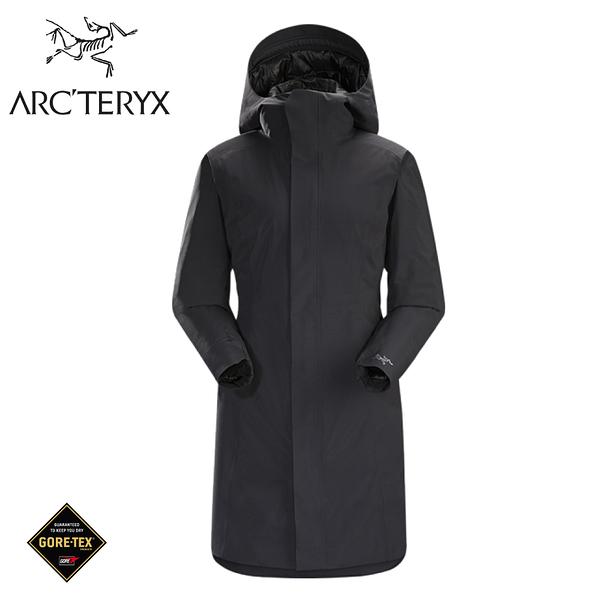 【ARC TERYX 始祖鳥 女 Durant GORE-TEX化纖外套《黑》】18156/防水外套/連帽外套/風雨衣