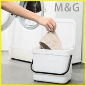 MG 洗衣籃掛壁式收納桶浴室臟衣服收納筐日式塑料臟衣籃簍密封臟襪子收納桶