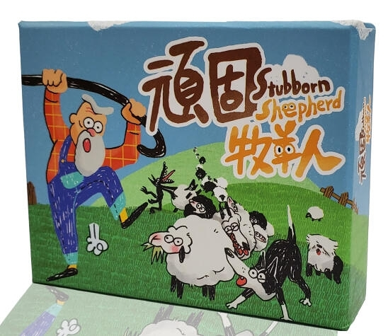 『高雄龐奇桌遊』 頑固牧羊人 counting sheep 繁體中文版 正版桌上遊戲專賣店