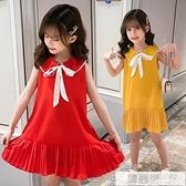 新款女童網紅連身裙夏天中大兒童小女孩夏季超洋氣韓版公主裙 夏季新品