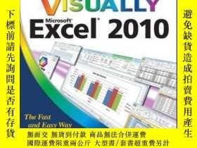 二手書博民逛書店Teach罕見Yourself VISUALLY Excel 2010Y410016 Paul McFedri