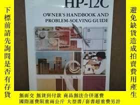 二手書博民逛書店HP罕見- 12C Owner s Handbook and Problem - Solving Guide【惠普