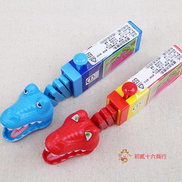台灣零食鱷魚鉗(附糖果)18g【0216零食團購】4893139824205