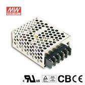MW明緯 RS-15-24 機殼型交換式電源供應器(15W)