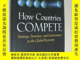 二手書博民逛書店How罕見Countries Compete: Strategy