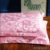 貢緞提花枕套一對裝