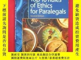 二手書博民逛書店Top罕見10 Rules of Ethics for Para