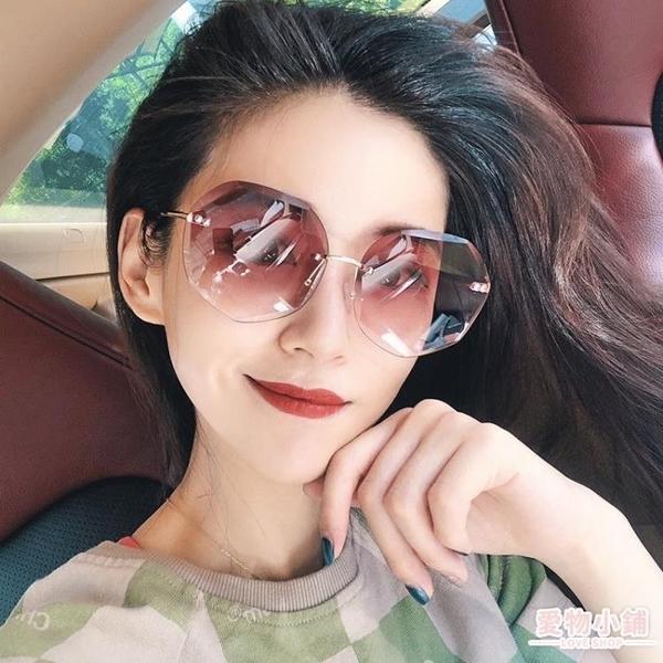 墨鏡 新款女士防紫外線墨鏡網紅太陽鏡圓臉長臉韓版開車眼鏡潮
