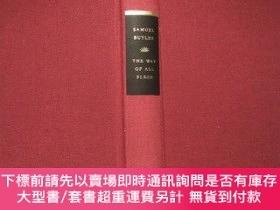 二手書博民逛書店The罕見Way of All Flesh -- a novel by Samuel Butler (Everym