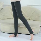 女童內搭褲 女童純棉打底褲兒童冬季加絨加厚連褲襪