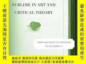 二手書博民逛書店Terror罕見And The Sublime In Art And Critical TheoryY4645