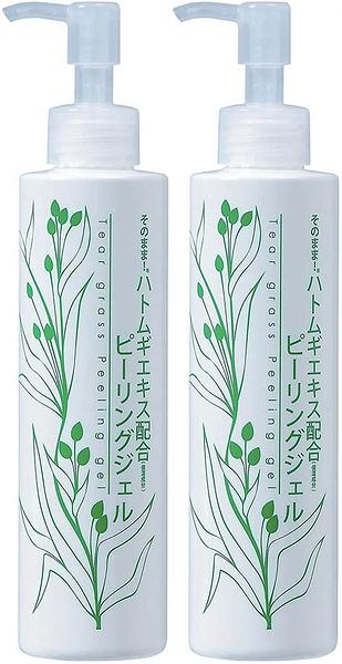 Tear grass Peeling【日本代購】薏苡凝膠 精華配方2瓶裝 200ml - 日本製