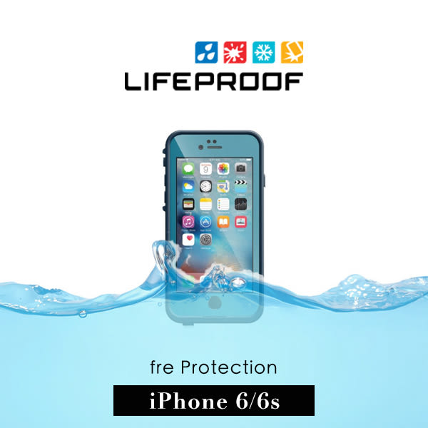 【G2 STORE】 LifeProof iPhone 6 / 6s 4.7吋 fre 防水防摔保護殼 - 藍
