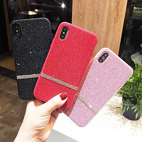 蘇拉達 三星 Galaxy Note9 手機殼 網美 奢華水鑽 閃粉 條紋 手機套 全包邊 防摔防滑 保護套