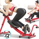 多功能弧形健腹器(擴充划船機+彈力繩)雙桿鍛鍊腹肌運動機.全方位提臀健腹機.雙軌道美腰機