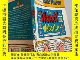二手書博民逛書店the罕見worry website 擔憂網站Y200392