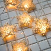 臥室五角星led小彩燈裝飾燈小燈泡串燈星星燈閃燈滿天星燈串浪漫 韓慕精品
