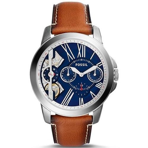 FOSSIL 自動機械錶 Grant系列 簍空設計 男錶女錶對錶情侶錶 送禮