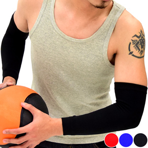 全臂式彈性透氣護肘套│護臂套護手臂套護手套.護手肘套袖套護套.肌肉加壓力關節保暖哪裡買