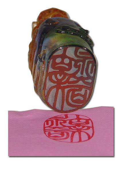 居家開運水晶琉璃 吉祥印章【祥獅 】文鎮 玉璽◆購物內容:一件◆免運費送到家