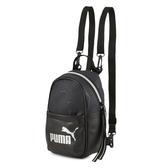 Puma Wmn Core 黑金色 後背包 肩背包 側背包 小包包 雙肩包 小後背包 07747901