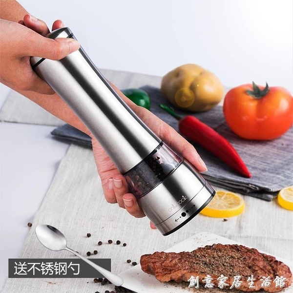 現磨研磨器 海鹽花椒黑胡椒粒碎磨碎器手動碾磨器研磨瓶