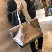 大包包女2019新款潮夏季韓版時尚女包大氣手提包側背斜背包托特包 潮人女鞋