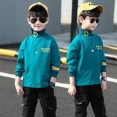 男童打底衫加厚加薄絨高領長袖T恤秋冬裝2019新款兒童中大童洋氣-ifashion