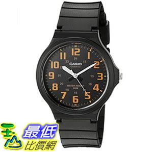 [美國直購] 手錶 Casio Mens Easy To Read Quartz Black Casual Watch (Model: MW240-4BV)