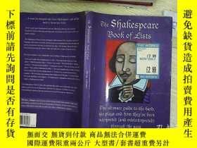 二手書博民逛書店THE罕見SHAKESPEARE BOOK OF LISTS 莎