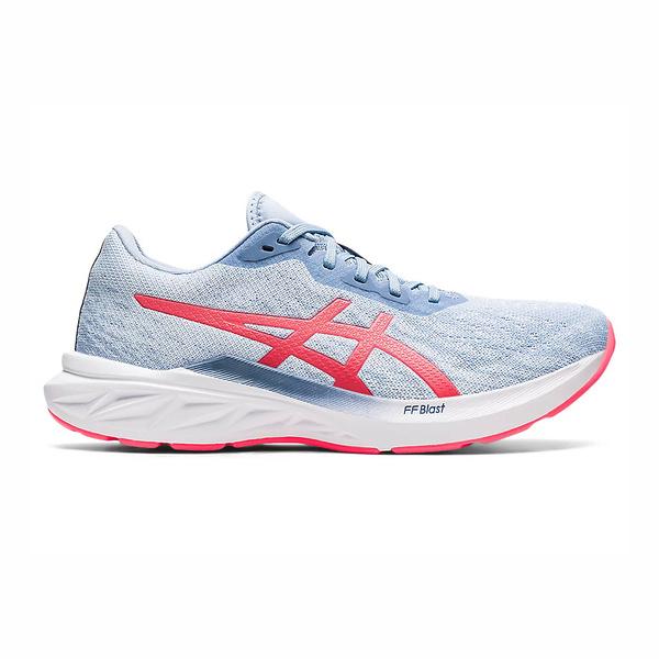 Asics Blast系列 [1012B060-400] 女鞋 慢跑鞋 輕量 舒適 柔軟 貼合 緩衝 亞瑟士 水藍 紅