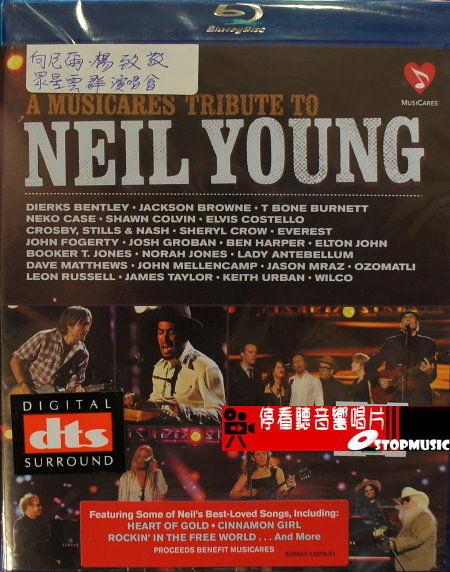【停看聽音響唱片】【BD】向NEIL YOUNG致敬 眾星群集演唱會
