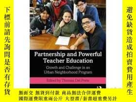 二手書博民逛書店Partnership罕見and Powerful Teache
