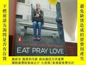 二手書博民逛書店英文原版小說罕見EAT PRAY LOVE 美食祈禱和戀愛Y160831