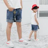 男童短褲2018夏季新款中大童五分破洞牛仔短褲韓版潮 js3842『科炫3C』