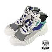 Palladium Pallakix 米灰色 麂皮 網布 中筒 軍靴 休閒鞋 男女款NO.B0824【新竹皇家 76424-918】