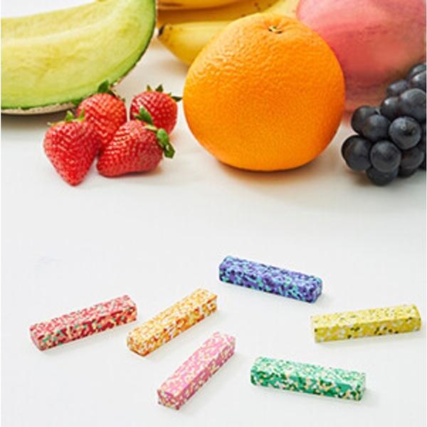 【日本製】【AOZORA】彩色圓點蠟筆 水果款(一組:10個) SD-13623-10 - AOZORA