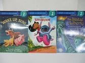【書寶二手書T6/語言學習_EC7】Step into Reading2_Wake up, Sun_Go, Stitich, Go等_3本合售