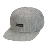 Hurley  M OAO BOXED REFLECTIVE HAT GREY HEATHER  棒球帽-灰(男)