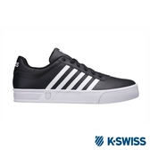 【K-SWISS】Court Lite Stripes休閒運動鞋-男-黑/白(06149-002)