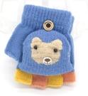 兒童手套 寶寶手套冬天0-1-3-6歲半指五指小孩漏指幼兒童可愛2手套保暖【快速出貨八折搶購】