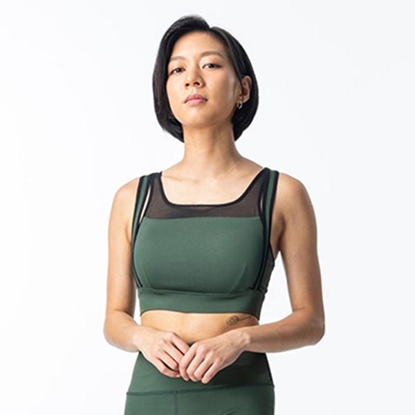 運動BRA-TA201214(商品不含內搭與配件)-百貨專櫃品牌 TOUCH AERO 瑜珈服有氧服韻律服