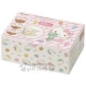 〔小禮堂〕Hello Kitty 兒童不織布立體口罩組《20入.白.小熊》衛生用品 4973307-43421