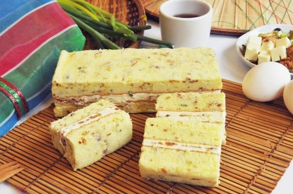 香蔥肉絨鹹蛋糕(約240g)