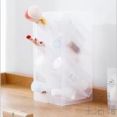 立式化妝品收納盒梳妝臺置物架護膚品整理盒【極簡生活】