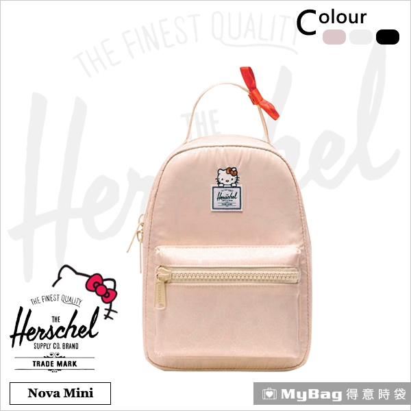Herschel x Hello kitty 後背包 小型 休閒後背包 Nova Mini 得意時袋